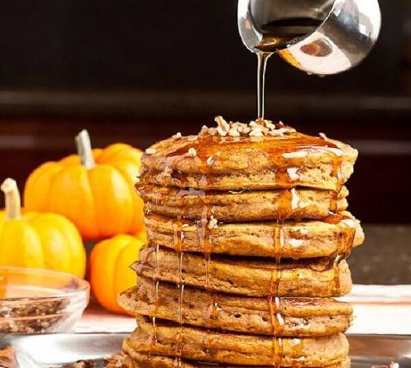 Pancake bí đỏ ngon đúng điệu.