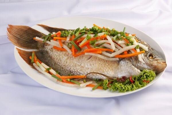 Cá hấp ngon miệng bổ dưỡng cho cả gia đình