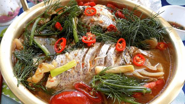 Cách nấu cá rô phi với dưa chua