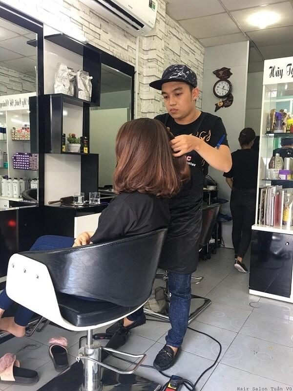 Salon Tuấn Vũ địa chỉ tin cậy cho bạn trao gửi mái tóc