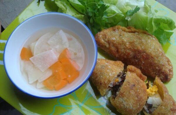 Bánh gối Cách làm bánh gối Nam Định ngon