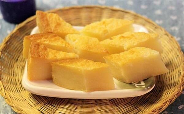 Cách làm bánh khoai mì hấp