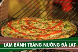 Cách làm bánh tráng nướng Đà Lạt đơn giản – Pizza Việt Nam