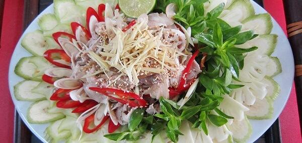 Cách làm món thịt bê thui hấp sả gừng