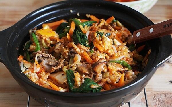Cách làm cơm trộn Hàn Quốc, cơm trộn Bimbimbap đơn giản tại nhà