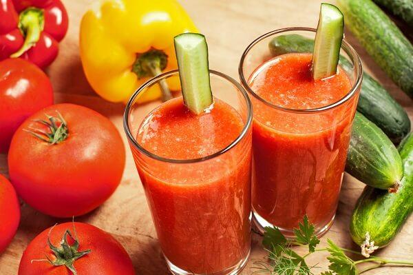 Bật mí cách làm sinh tố cà chua thơm ngon nhất – Cách làm nước ép cà chua