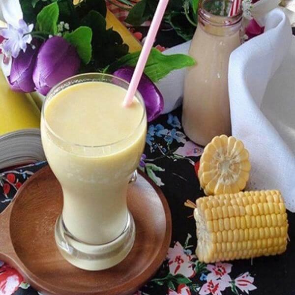 Sữa bắp (sữa bắp) sau khi đã hoàn thành – cách làm sữa bắp ngon