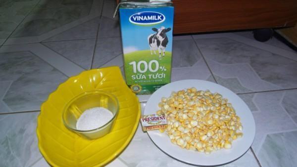 Cách làm sữa bắp ngon – nguyên liệu cần chuẩn bị – cach nau sua bap