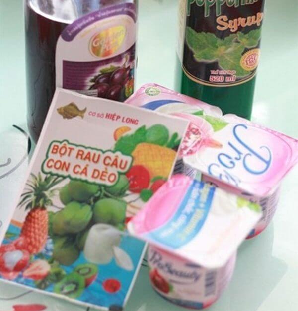 Nguyên liệu làm thạch sữa chua – cách làm thạch sữa chua