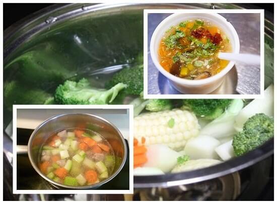 Hướng dẫn cách nấu súp gà rau củ thập cẩm ngon nhất chuẩn vị nhất
