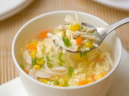 Lưu ý khi nấu súp gà rau củ