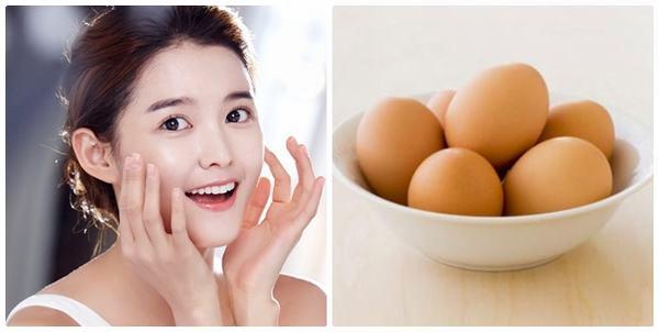 Tác dụng của đắp mặt nạ lòng trắng trứng gà