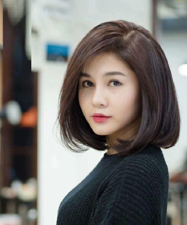 Mặt tròn hợp với kiểu tóc nào, nên để kiểu tóc nào đẹp nhất