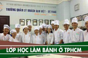 9 lớp học làm bánh ở Tphcm – Học làm bánh ở đâu tốt nhất Tphcm
