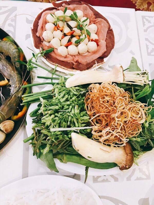 Đặc biệt là các món lẩu Thái luôn để lại một ấn tượng đẹp