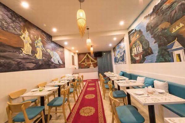 Điểm cộng của nhà hàng chuyên đồ Thái này là các nguyên liệu vô cùng tươi