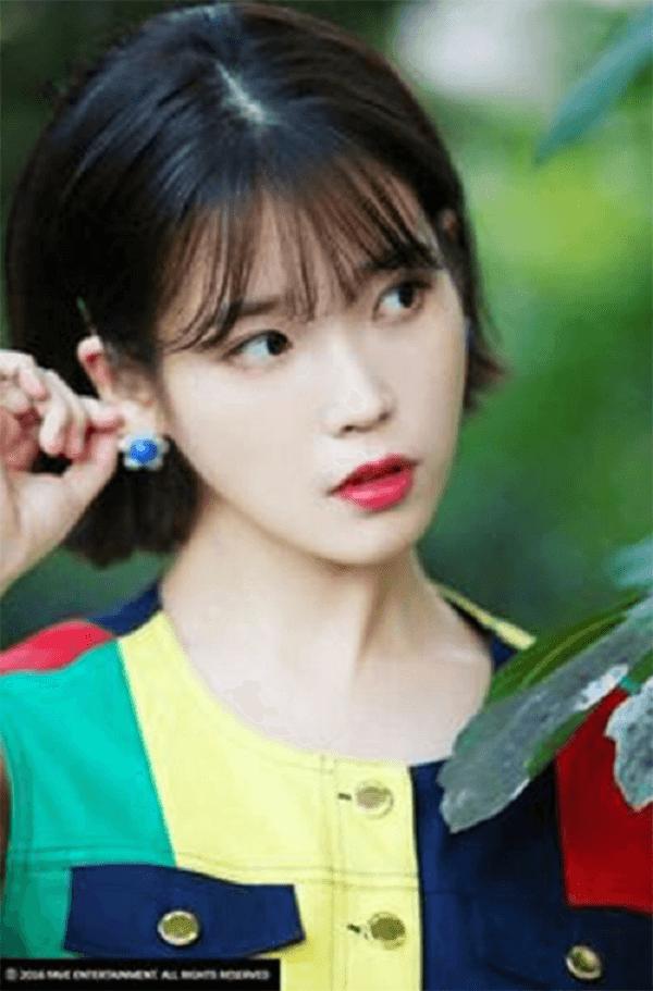 Tóc ngắn ngang - Kiểu tóc ngắn ngang vai mái thưa Hàn Quốc mặt tròn, mặt dài