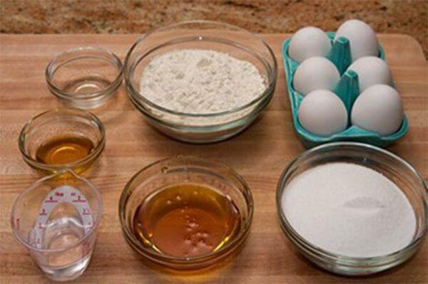 Nguyên liệu làm bánh bông lan trứng muối – cách làm bánh bông lan trứng muối