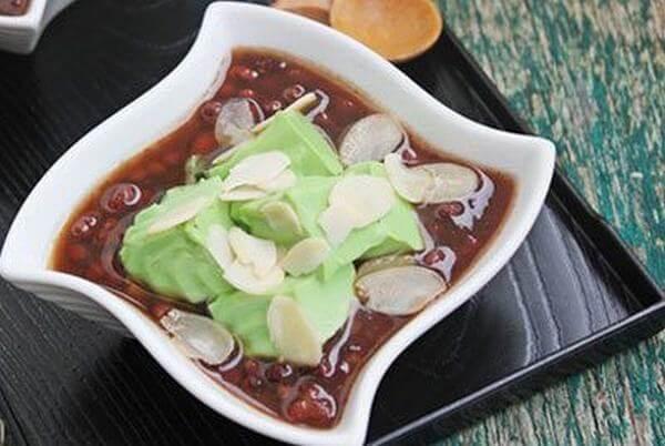 Công thức nấu chè đậu đỏ trà xanh ngon đúng điệu