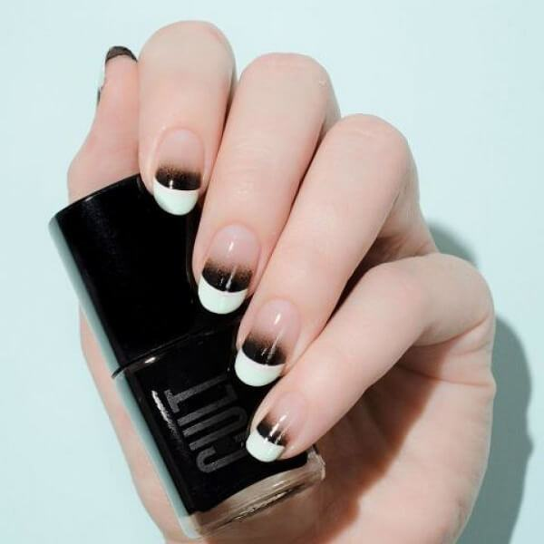 Kiểu mẫu móng nail ombré cực đẹp