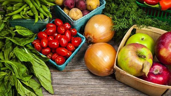 Sử dụng nhiều rau quả