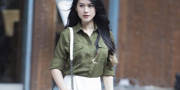 Áo màu xanh rêu kết hợp với quần màu gì thì đẹp - Cách phối đồ màu xanh rêu