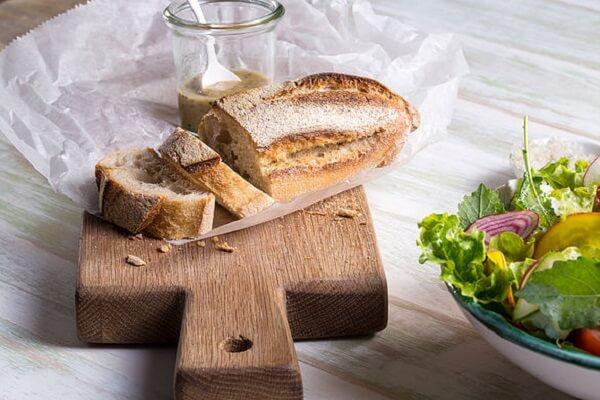Bánh mì không chứa Glutin