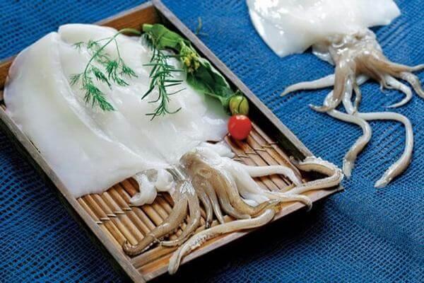 ở Việt Nam có có 5 loại mực chủ yếu. Đó là: mực lá, mực trứng, mực ống, mực mai và mực sim