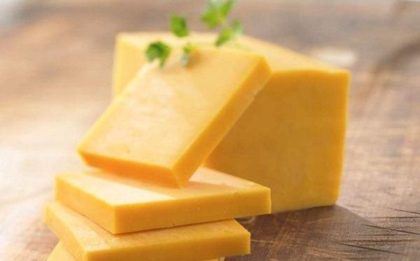Cheddar là loại phô mai được tiêu thụ nhiều nhất trên thế giới