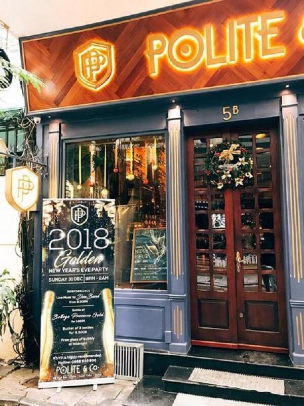 Polite & Co – Bảo Khánh - Các quán Bar bình dân ở Hà Nội - Địa chỉ, giá quán Bar sinh viên