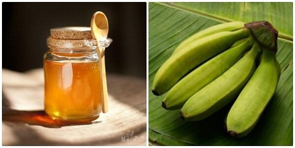 Bài thuốc trị đau bao tử bằng mật ong và chuối xanh