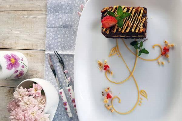 Bánh Caramel walnut brownies - Món quà ngày 14/2 tuyệt vời