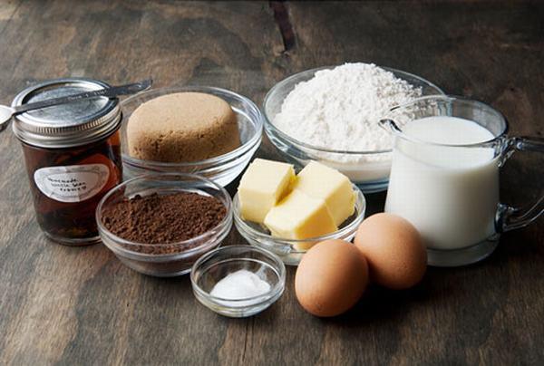 Nguyên liệu làm bánh gan nướng