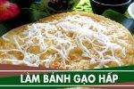 Cách làm bánh bột gạo hấp đơn giản – Làm bánh hấp từ bột gạo