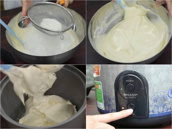 Làm kem – cách làm bánh sinh nhật đẹp – hinh banh sinh nhat
