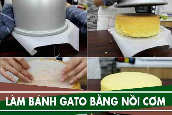 Cách làm bánh sinh nhật, bánh gato bằng nồi cơm điện
