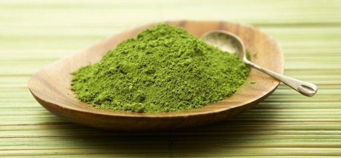 Bột trà xanh – làm bánh trung thu rau câu