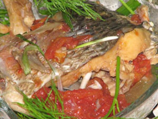 Món cá sốt đã hoàn thiện – cách làm cá sốt cà chua