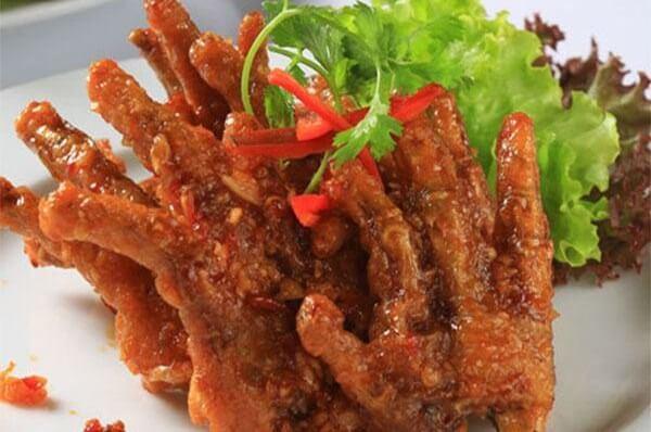 Món chân gà chiên mắm - Cách làm cánh gà chiên nước mắm tỏi