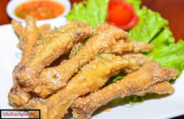 các món ăn từ chân gà