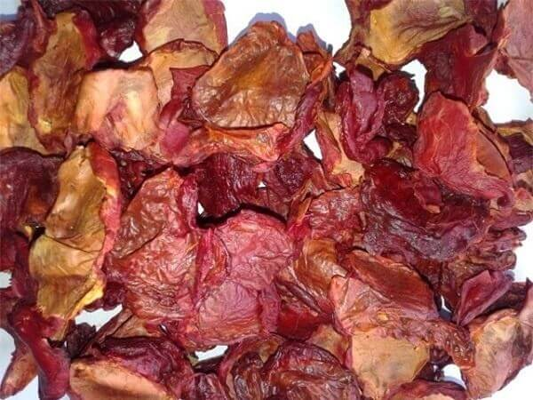 Làm khô thịt gấc - cách làm dầu gấc nguyên chất tại nhà