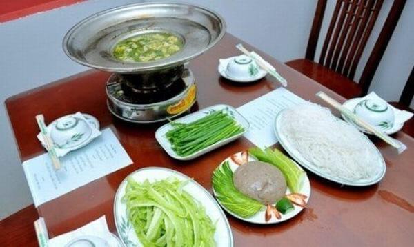 Cách nấu lẩu cá thác lác và cách trình bày rất đơn giản