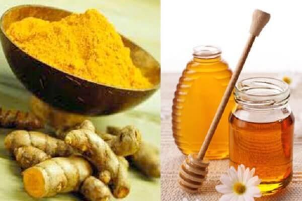 Cách làm trắng da mặt từ nghệ tươi và mật ong, sữa tươi hiệu quả nhanh tại nhà