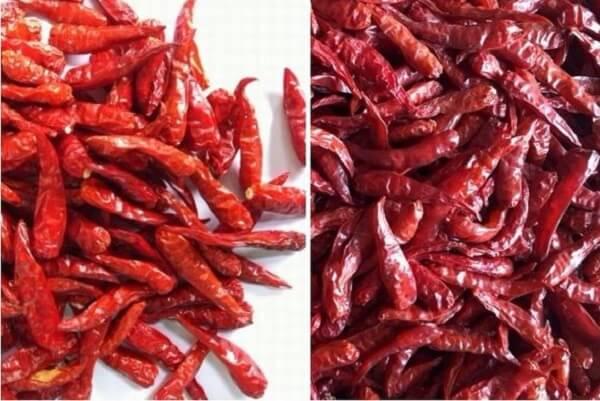 Lựa chọn ớt tươi