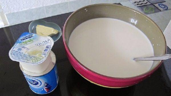 Pha chế sữa chua phô mai dẻo mịn