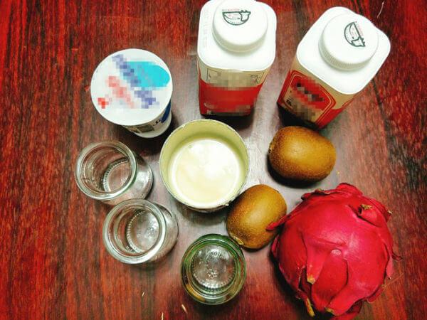 Nguyên liệu làm sữa chua uống – cách làm sữa chua uống hoa quả