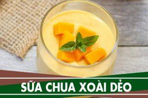 Cách làm sữa chua xoài dẻo ngon đơn giản tại nhà