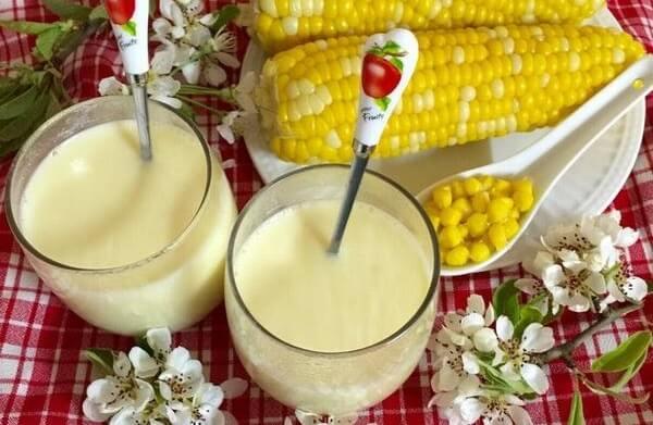 Sữa bắp ngô – món ăn bổ dưỡng cho gia đình