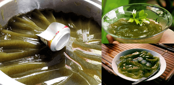 Thêm nước đường, trân châu… khi ăn thạch găng