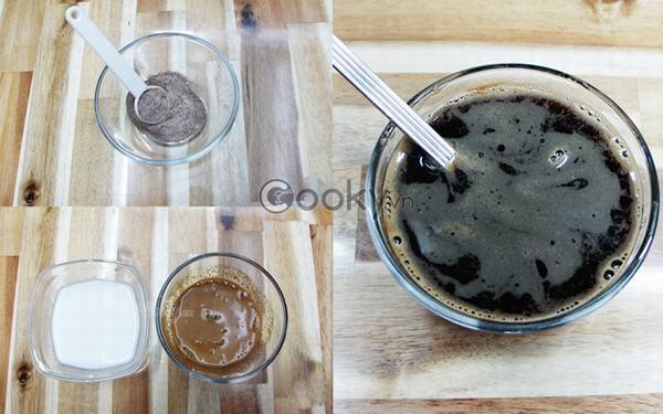 Nguyên liệu làm thạch cà phê